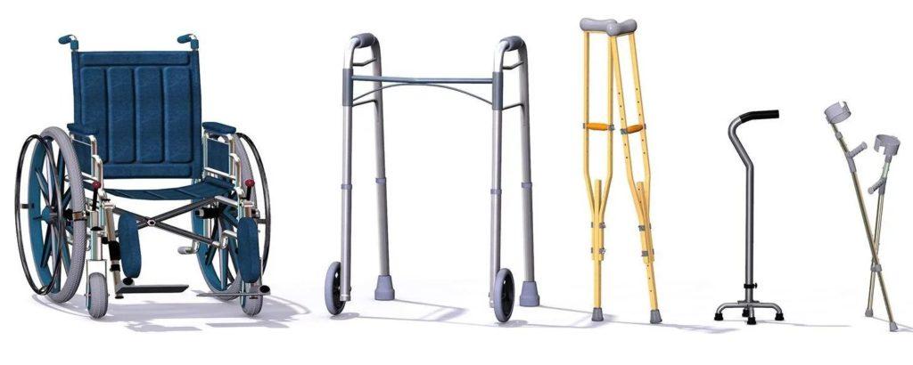 Productos de apoyo de ortopedia