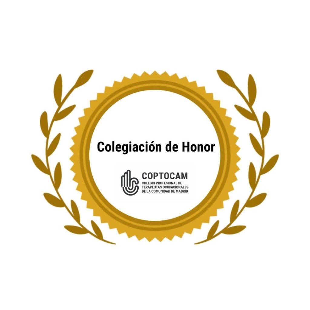 Colegiación de Honor COPTOCAM